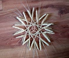 Wheat WEAVINGS Illinois | Wheat & Barley Harvest Wreath by Gypsy Wedding Gifts at Etsy