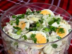 Sałatka 5 składników | Dieta Moja Pasja Potato Salad, Potatoes, Ethnic Recipes, English, Food, Diet, Potato, Essen, English Language