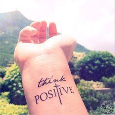 3. #Words of Affirmation - 32 #Inspiring Wrist #Tattoos ... → #Lifestyle #Dandelion