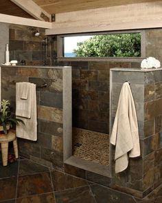nice 77 Awesome Rustic Decoration Ideas for your Bathroom https://homedecort.com/2017/04/awesome-rustic-decoration-ideas-for-your-bathroom/