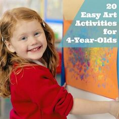 20 Easy Art Activities For Your Four-Year-Old