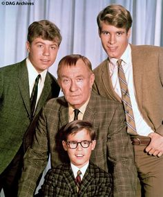 Great publicity shot for My Three Sons