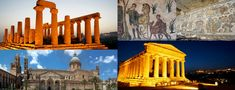 #Agrigento is a famous archaeological site. It contains the remains of 5th and 6th century BC Doric temple. You also find remains of The Temple of #Concordia on the eastern half of the site It is now a UNESCO world heritage site and also has an on-site museum and the another most famous site is the #VillaRomanadelCasale. It is a magnificent rural abode featuring fascinating #mosaics.