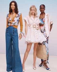 Work Fashion, Runway Fashion, Womens Fashion, Fashion Trends, Fashion Ideas, Capsule Outfits, Chic Outfits, Spring Summer Trends, Summer Collection