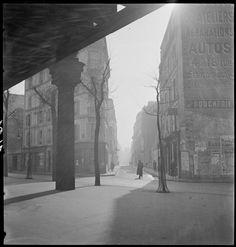 Marcel Bovis, Métro aérien boulevard Garibaldi, 1937
