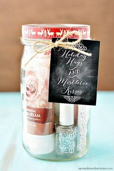 Christmas Jar Gift ~ Only Deco
