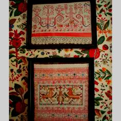 Vintage Brunschwig mixed with Russian textiles