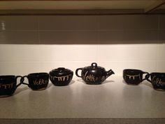 Velkomin tea set