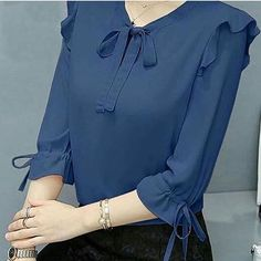 Summer Hollow Out Lace Women Sexy Sleeveless Blouse Tops – Prilly women tops women shirts blouse shirts blouses classy s Kurti Sleeves Design, Kurta Neck Design, Sleeves Designs For Dresses, Dress Neck Designs, Kurta Designs, Blouse Designs, Blouse Outfit, Blouses For Women, Fashion Dresses