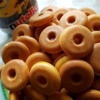 Amerikai mini fánk Onion Rings, Winter Food, Petra, Minion, Doughnut, Bakery, Food And Drink, Ethnic Recipes, Bread Store