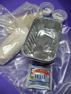 Bread in a bag - fun to do with kiddos!