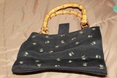 Clothe Beach Purse Cloth Bags, Louis Vuitton Monogram, Purses, Beach, Pattern, Etsy, Handbags, Canvas Bags, Seaside