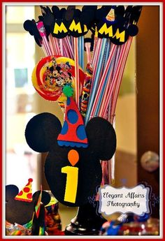 """Photo 26 of 29: Mickey Mouse Clubhouse / Birthday """"Matthew's 1st Mickey Bash! """"   Catch My Party"""