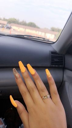 123 nail designs and ideas for coffin acrylic nails page 37 123 nail de Nagelkunst Best Acrylic Nails, Summer Acrylic Nails, Summer Nails, Coffin Acrylic Nails Long, Acrylic Nails Yellow, Acrylic Nail Designs Coffin, Coffin Acrylics, Fall Nails, Nails Now
