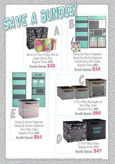 You can bundle these Thirty One products together for even more savings. www.mythirtyone.com/christyallegree