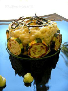 Risotto con crema di zucchine