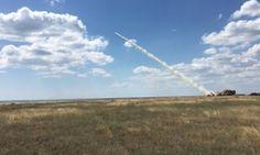 Украина успешно провела первый испытательный пуск ракеты нового образца  http://112.ua/glavnye-novosti/ukraina-uspeshno-provela-pervyy-ispytatelnyy-pusk-rakety-novogo-obrazca-334417.html  Бирюков не сообщил подробностей о типе пусковой установки, сказав, что это пока засекречено