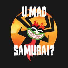 U Mad Samurai? Aku the original Troll from Samurai Jack