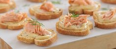 Seriously Good Dijonnaise & Smoked Salmon Crostini  recipe from Food in a Minute