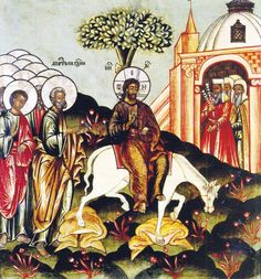 Entry into Jerusalem | The Palm Sunday Icon | A Reader's Guide to Orthodox Icons
