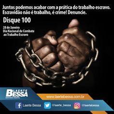 Dia Nacional De Combate ao Trabalho Escravo