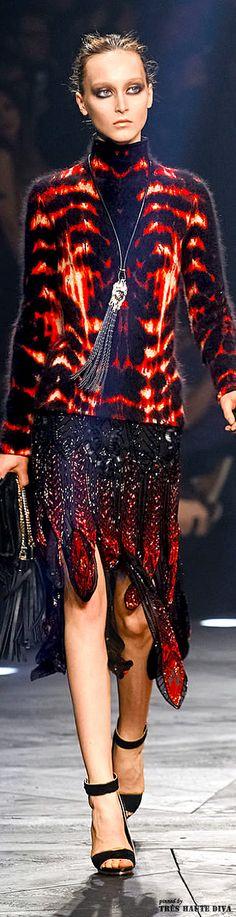 Milan Fashion Week Roberto #Cavalli Fall/Winter 2014 RTW