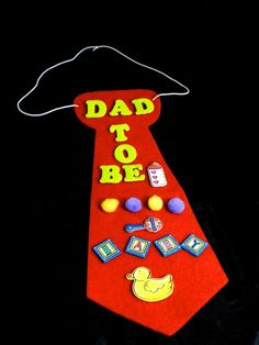 "Cute for the dad to wear at the baby shower... Or as Oskar says: ""We're gonna have a baby ""palooza""!"" haha"