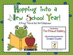 $6.00 Your classroom will be hopping with this 115 page frog theme pack. It has everything you need to decorate your classroom with a colorful, eye-catch...