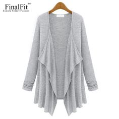 Loose Jersey Throw-over Sweater