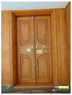 Kerala House Front Double Door Designs Doors May Ear More Difficult To Secure Due How They Shut At First