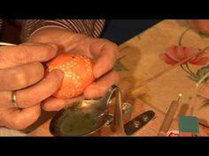 Sorbian eggs; Ostereier bemalen in Gahlen