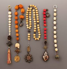 Antique German rosaries