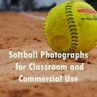 PRODUCT DESCRIPTION  I have included 34 softball photographs that capture the essence of a softball game (including the hotdog and nachos and cheese). You may use these in classroom assignments, powerpoints, lessons, etc. You may also use them in commercial products with a credit given to my store in the description. Enjoy!