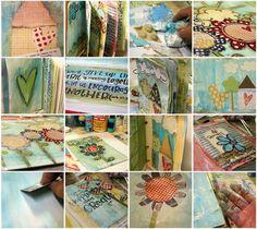Stephanie Ackerman journal collage