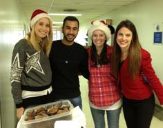 The RVHF Youth Movement Ambassadors baked muffins and brownies to hand out to the staff of the hospital for a little holiday cheer!
