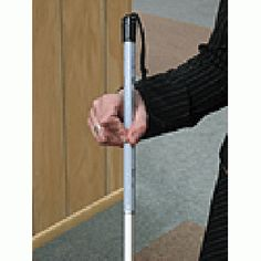 Little Mom on the Prairie : FREE Straight White Fiberglass Cane for the Blind from NFB