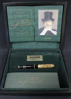 Aurora 1998 Limited Edition Giuseppe Verdi Fountain Pen #522/1919