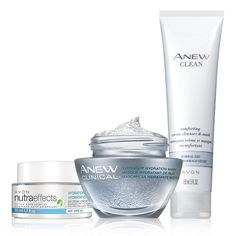 Hydrate & Refresh Set. Boost your skin's moisture. Valued at $58.00, the trio includes: Nutraeffects Hydration Day Cream SPF 15, Anew Clinical Overnight Hydration Mask, and Anew Clean Comforting Cream Cleanser & Mask.