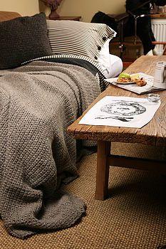 Chunky Hand Crochet Blankets