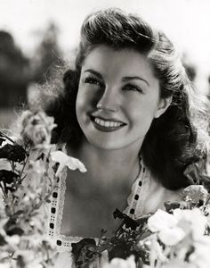 Esther Williams. One of the prettiest pictures of her that I've seen.