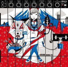 Asian Kung-Fu Generation - ブラッドサーキュレーター (Blood Circulator) cover art by Yusuke Nakamura
