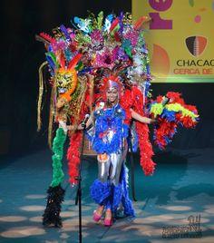 La belleza de un traje en representación de Venezuela y sus animales extintos