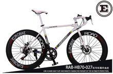 700C * 49 cm bicicleta marco de la aleación de frenos de disco de bicicleta bicicleta de carretera XC650 EUROBIKE 14 velocidad bicicleta de carreras no plegable bicicleta 160-185 CM(China (Mainland))