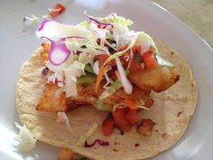 Looking for some of the best tacos in Cabo? We've got you covered! Be sure to try Tacos Gardenias in Cabo, their fresh halibut is caught locally & not to be missed! #CaboFlavors www.LosCabosRealEstate.com