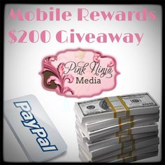 Free Sign Up for the Mobile Rewards $200 Giveaway Event