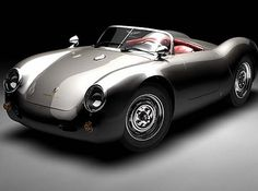 The redesign of James Deans classic porsche. OMG! I love this car!!!