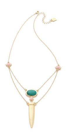Rose Pierre Le Midi Chains Necklace
