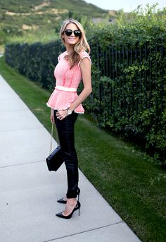 Perfect Fall Outfit if you are looking for a pop of color