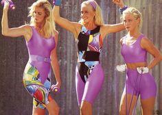 #80s #fitness #workout #fashion
