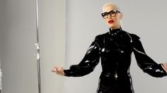 Gwen Stefani, and the ubiquitous Syren Latex Garbo blouse   Wear Latex